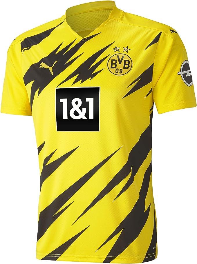 PUMA 1a Equipación 20/21 Replica Borussia Dortmund BVB Hombre Camiseta Hombre