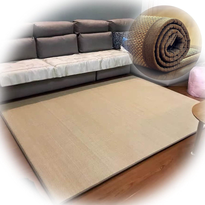 KKCF security Natural Fiber Bamboo Max 68% OFF Carpet Sliding Prevent Edging Widened