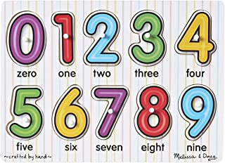 Melissa and Doug See-Inside Numbers Peg 3273 - Jigsaws and Puzzles