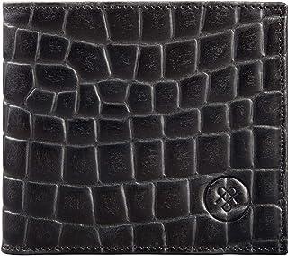 Maxwell Scott Bags , Portafogli  nero Nero Croco taglia unica