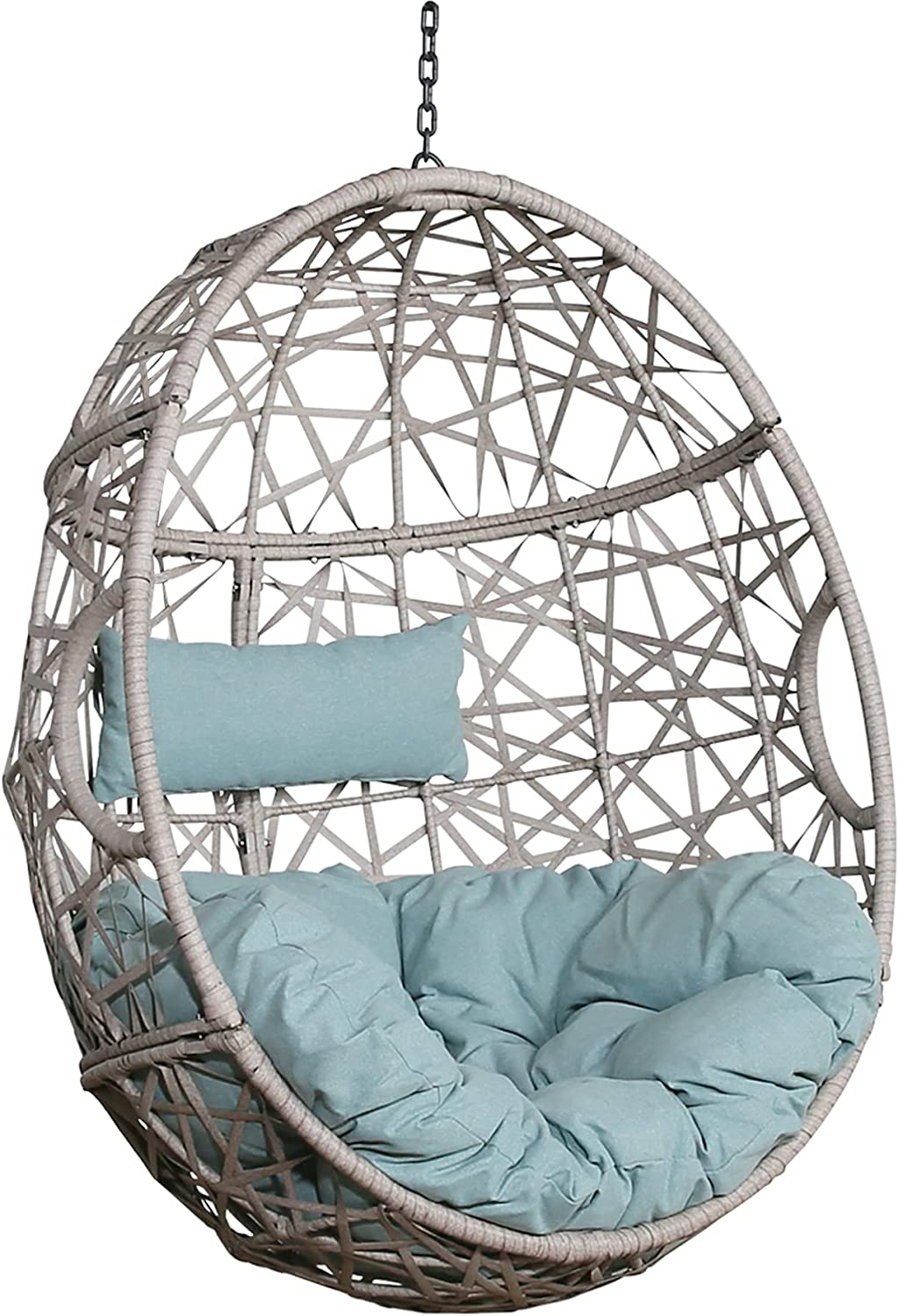 Patio Hammock Basket Fashionable Chair Outdoor Egg Hanging Porch Fees free Swing