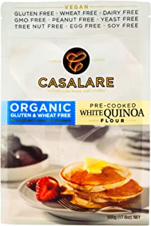 Casalare Organic Pre-Cooked Quinoa Flour 500 g