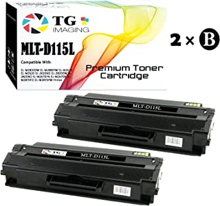 TG Imaging Compatible Toner Replacement for Samsung MLT-D115L Black 2-Pack Xpress M2820 M2870 M2870FW