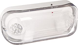 Ciata Lighting EMR-WP-LED Wet Location Outdoor Emergency Light with Battery Back-up, Grey