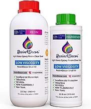 Snel uitharden 12 uur epoxyhars Resin4Decor lamineerhars topkwaliteit kunsthars giethars 1050 ml