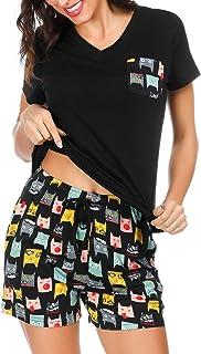 Conjunto de Pijama Corto para Mujer