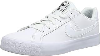 zapatillas blancas lona mujer nike