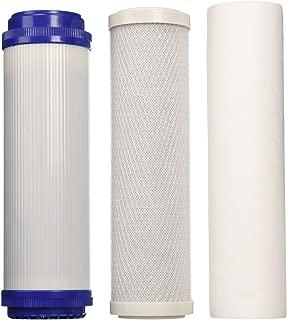 3 PCS REVERSE OSMOSIS (RO) WATER FILTER SET- SEDIMENT,GAC,CARBON BLOCK -10