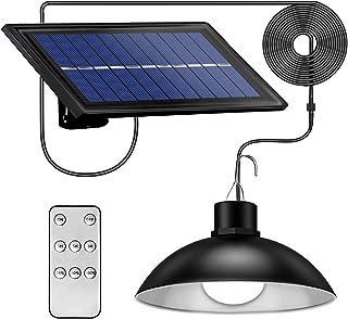 Lampe Suspendue Solaire Extérieur 30 LED Luminaire Solaire Rétro IP65 Étanche Pendant Lumière pour Jardin, Balcon, Garage