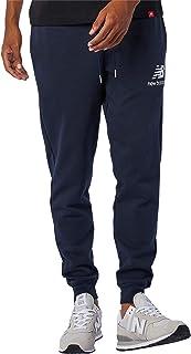 New Balance mens NB Essentials Stacked Logo Sweatpant Pants