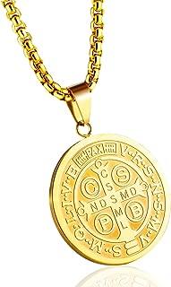 large st benedict medallion