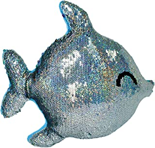 iscream Rainbow Fish Shaped 11.5