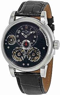 [ルシアン ピカール]Lucien Piccard 腕時計 Cosmos Automatic Black Dial Watch 1507101W 15071-01-W メンズ [並行輸入品]