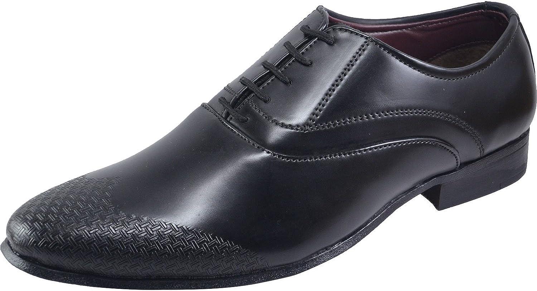 VONZO Mens Synthetic Leather Tuxedo Dress schuhe Lace up Pointed Pointed Toe Oxfords  Kostenlose und schnelle Lieferung möglich