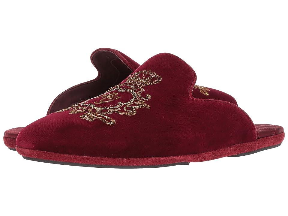 Dolce & Gabbana Laurel and Crown Slip-On (Bordeaux) Men