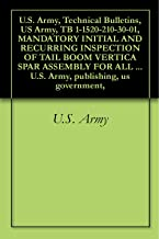 U.S. Army, Technical Bulletins, US Army, TB 1-1520-210-30-01, MANDATORY INITIAL AND RECURRING INSPECTION OF TAIL BOOM VERTICA SPAR ASSEMBLY FOR ALL UH-1 ... U.S. Army, publishing, us government,