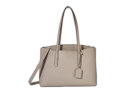Kate Spade New York Margaux Large Work Tote (True Taupe) Handbags