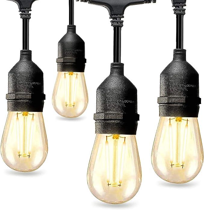The Best Garden String Lights Outdoor Plastic Bulb Led