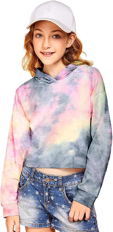 2-10 Jahre Coversolate Kinder M/ädchen Kleidung Sweatshirt Mit Kapuze Brief-Streifendruck Hoodie Pullover Tops