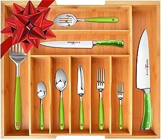 Best wooden flatware tray Reviews