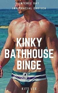 Kinky Bathhouse Binge: Intense Gay Interracial Erotica