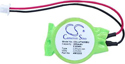 Cameron-Sino Replacement Battery for Lenovo CMOS/Backup Battery Thinkpad T400, Thinkpad T400s, Thinkpad T410
