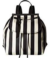 Marc Jacobs - Stripes Printed Trooper Backpack