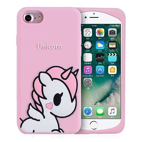 dc7aa602c2 Joyleop Angel Unicorn Case for iPhone 6 /iPhone 6S Cover,Cute KidS Girls  Teens