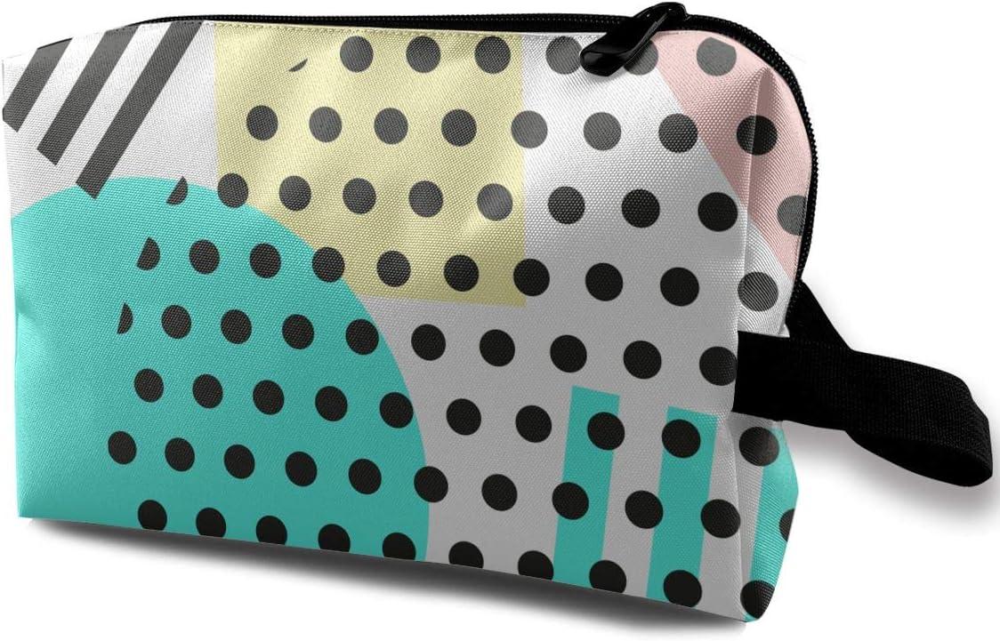 QiiRy Fashion Retro Modern Geometric Luxury goods Abstract Ba Travel Portable Recommendation