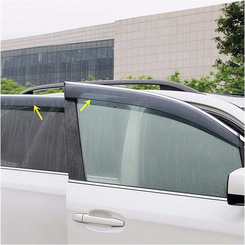 QUXING Window Wind Award Overseas parallel import regular item Deflectors for C Forester 2014-2018 SJ Subaru
