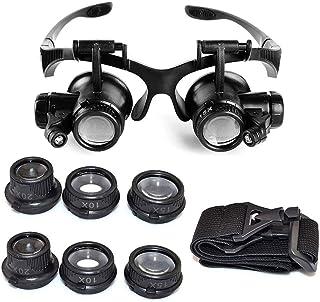 8d409eab46 EUROXANTY-Lupa 10 x 15 x 20 x 25 x Gafas de ojo de lupa