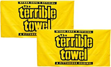Pittsburgh Steelers Official Terrible Towels - Set of Two Yellow - NFL