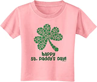 TooLoud Irish Flag Shamrock Distressed Baby Romper Bodysuit