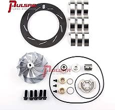 PULSAR 6.6 Duramax LLY Turbo Rebuild Kit Billet Compressor Wheel NITRIDED Unison Ring Vane Combo 04.5-05