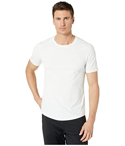 manduka Tech Tee (White) Men
