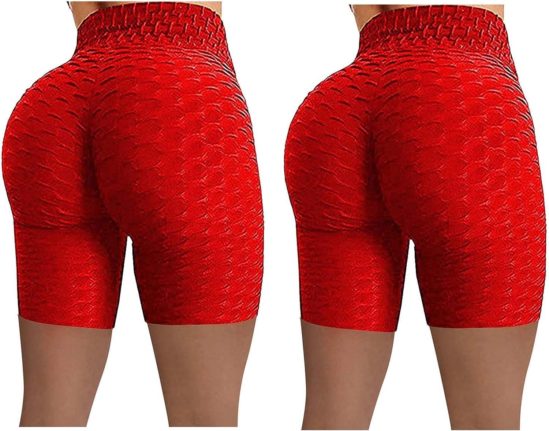 Gwewei4df OFFicial Popular popular 2PC Women Stretch Tummy Control Yoga Leggings Fitness