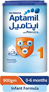 Aptamil 1 Infant Formula Milk, 900g