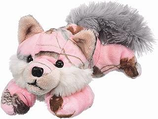 pink stuffed wolf