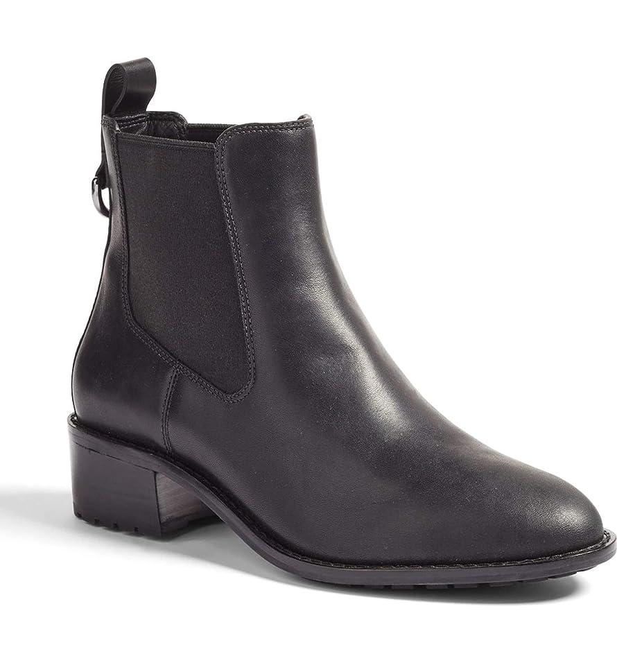 カテナ淡い結紮[コールハーン] Women`s Newburg Waterproof Chelsea Boot ウィメンズニューバーグ防水チェルシーブーツ (並行輸入品)