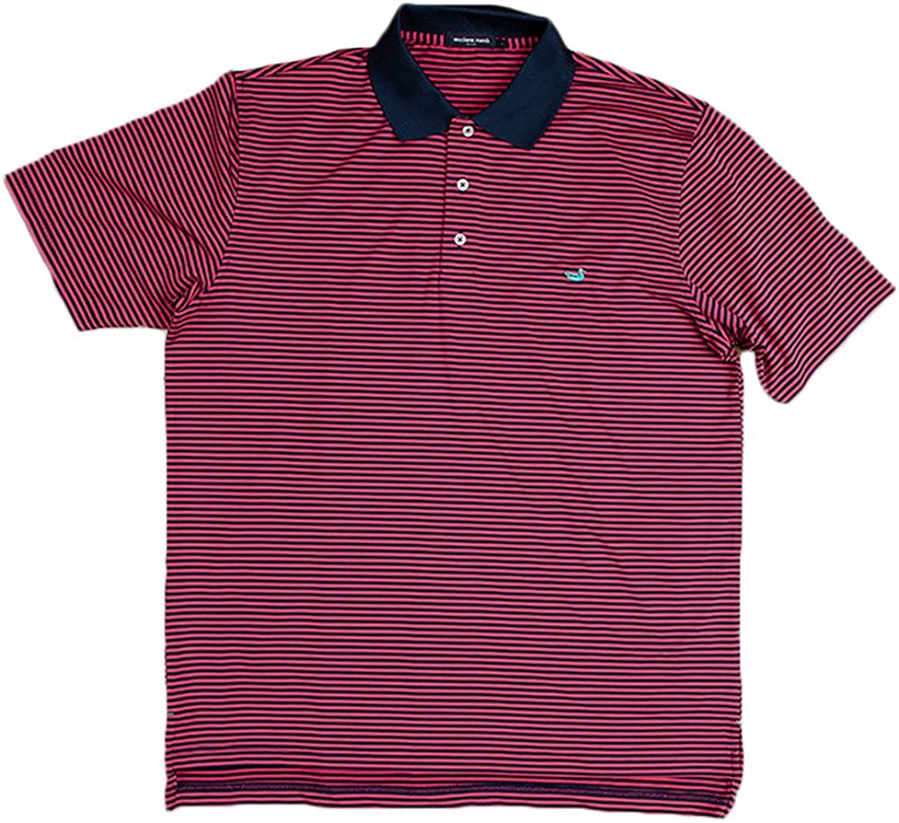 Southern Marsh New Free Shipping OFFicial mail order Bermuda Polo Stripe