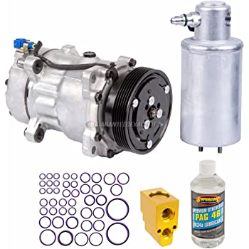 BuyAutoParts 60-82658R6 New For Volkswagen Jetta /& Bettle AC Compressor w//A//C Condenser /& Repair Kit