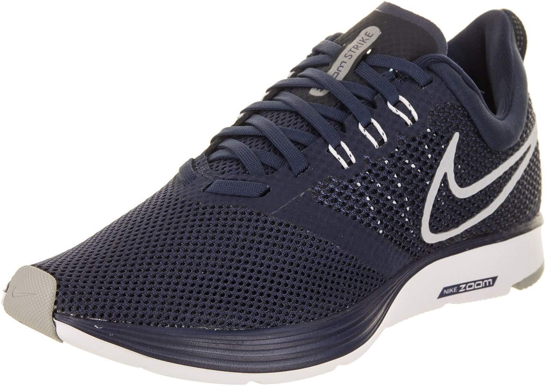 Wmns Nike Zoom Strike - midnight navy wolf grau-dark o - Running-Schuhe-Damen