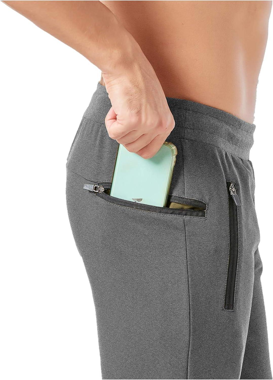 Muscle Killer Mens Casual Shorts 3//4 Jogger Pants Workout Training Jogger Capri Shorts with Zipper Pocket