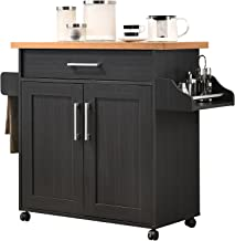 Hodedah Kitchen Cart