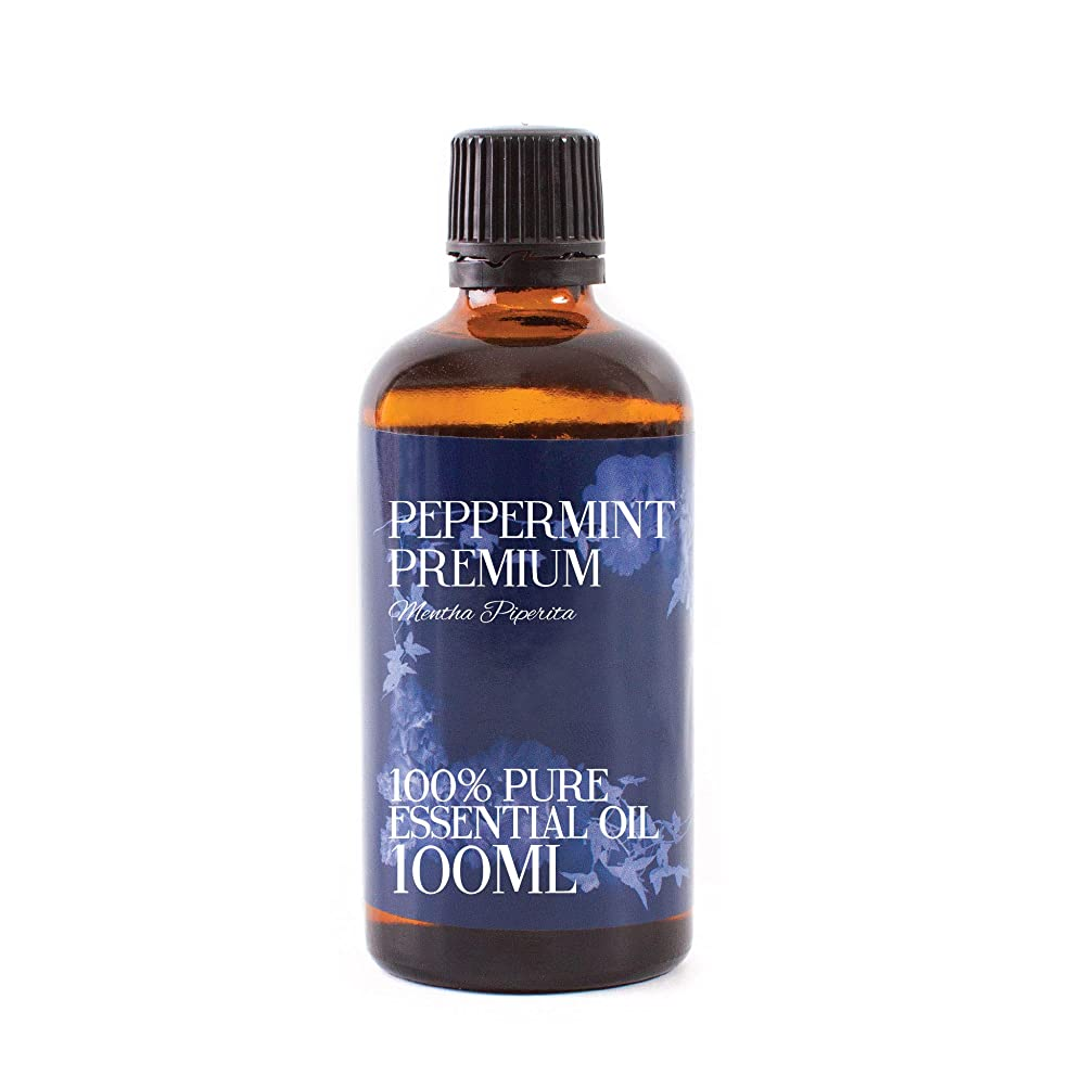 部分的ショットお手伝いさんMystic Moments | Peppermint Premium Essential Oil - 100ml - 100% Pure