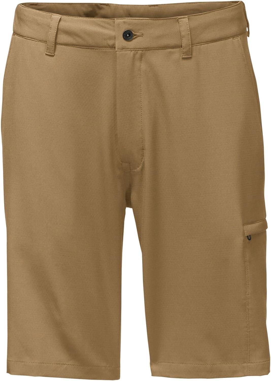 The North Face Men's Rolling Sun Hybrid Shorts Kelp Tan  35 Regular
