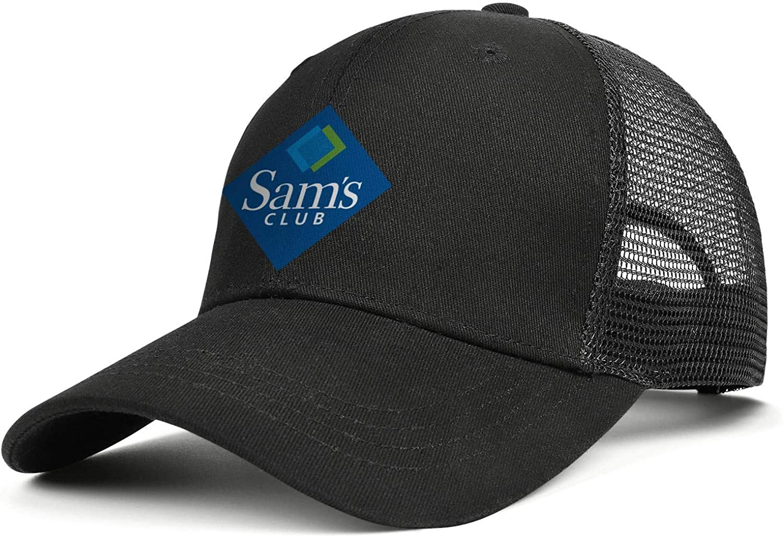 Unisex Baseball Cap Logo Adult SAMS-Club-Logo- Adjustable Truck Cap Baseball Hat : Clothing, Shoes & Jewelry