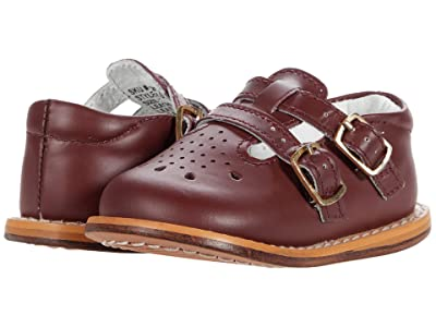 Josmo Kids T-Strap Buckle Shoe (Infant/Toddler) (Burgundy) Kid