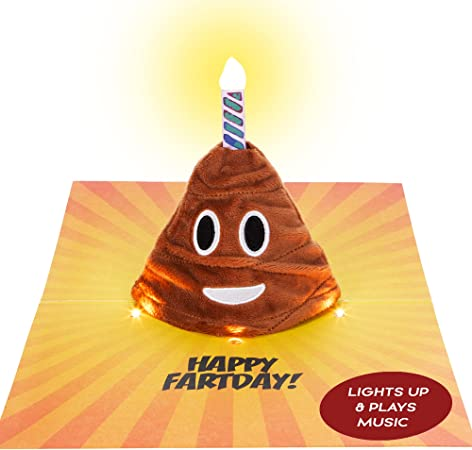 Emoji Happy Birthday Card – Play & Sings a Hilarious Version of the Happy Birthday Song