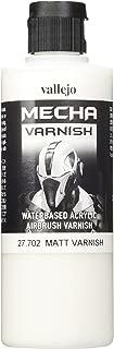 Vallejo Mecha Matt Varnish 200ml Painting Accessories